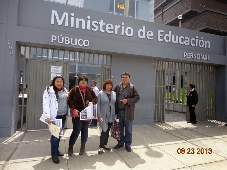 GESTIONES ANTE EL MINEDU