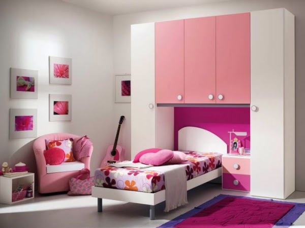 Conseils d co et relooking 14 id es de conception de salle de fille for Chambre de fille 14 ans