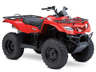 2013 Suzuki KingQuad 400ASi ATV pictures 1