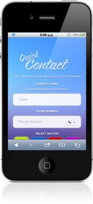 iphone 4s contacts hider