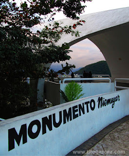Monumento Niemeyer, em São Vicente - São Paulo