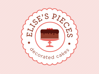 Cake Company Logo Design : Let s Share the World of Fantasy: 20 Cake Logo Inspirations