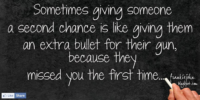 giving someone a second chance Firing a staff member is a huge decision and effort for a company and even  harder as a business owner a major part of being an entrepreneur.