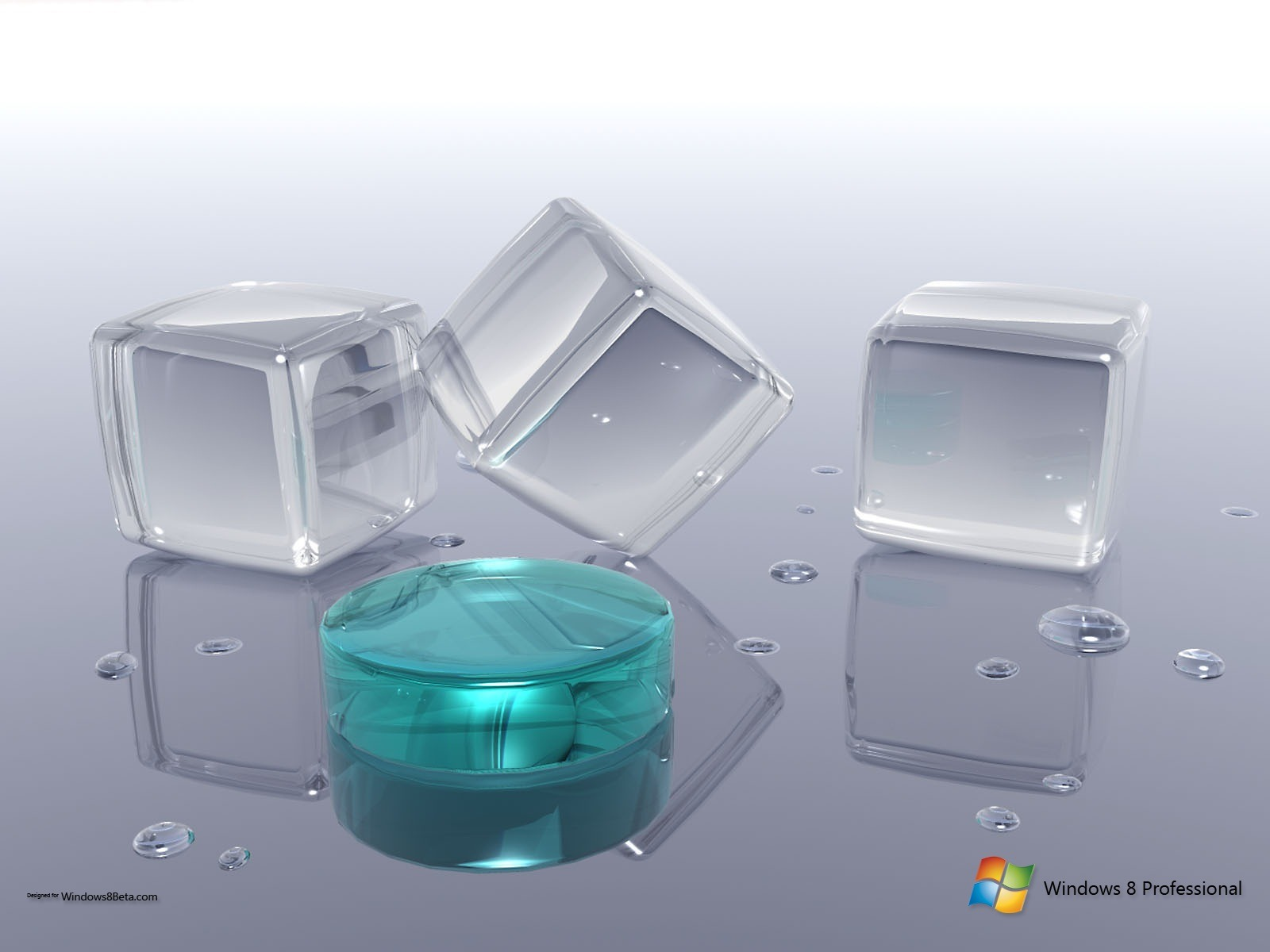 Windows 8 Crystal Wallpaper | Windows 8 Themes and Wallpapers