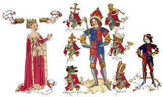Richard III and Anne Neville, Rous Roll