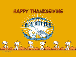 Happy Thanksgiving from Boy Butter!