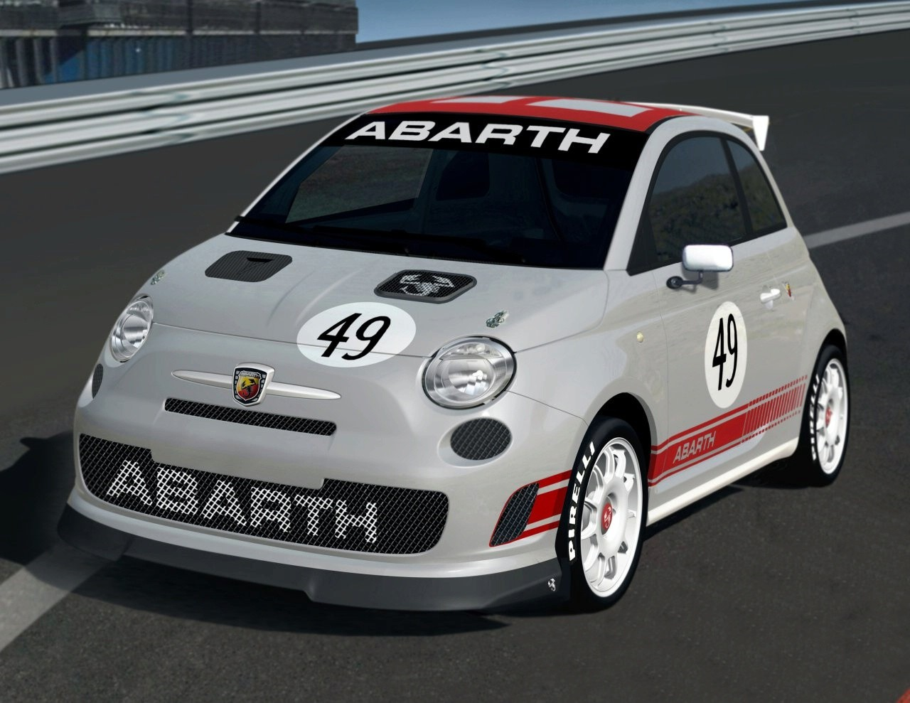 fiat 500 abarth virtual tuning photoshop tuning virtual tuning. Black Bedroom Furniture Sets. Home Design Ideas