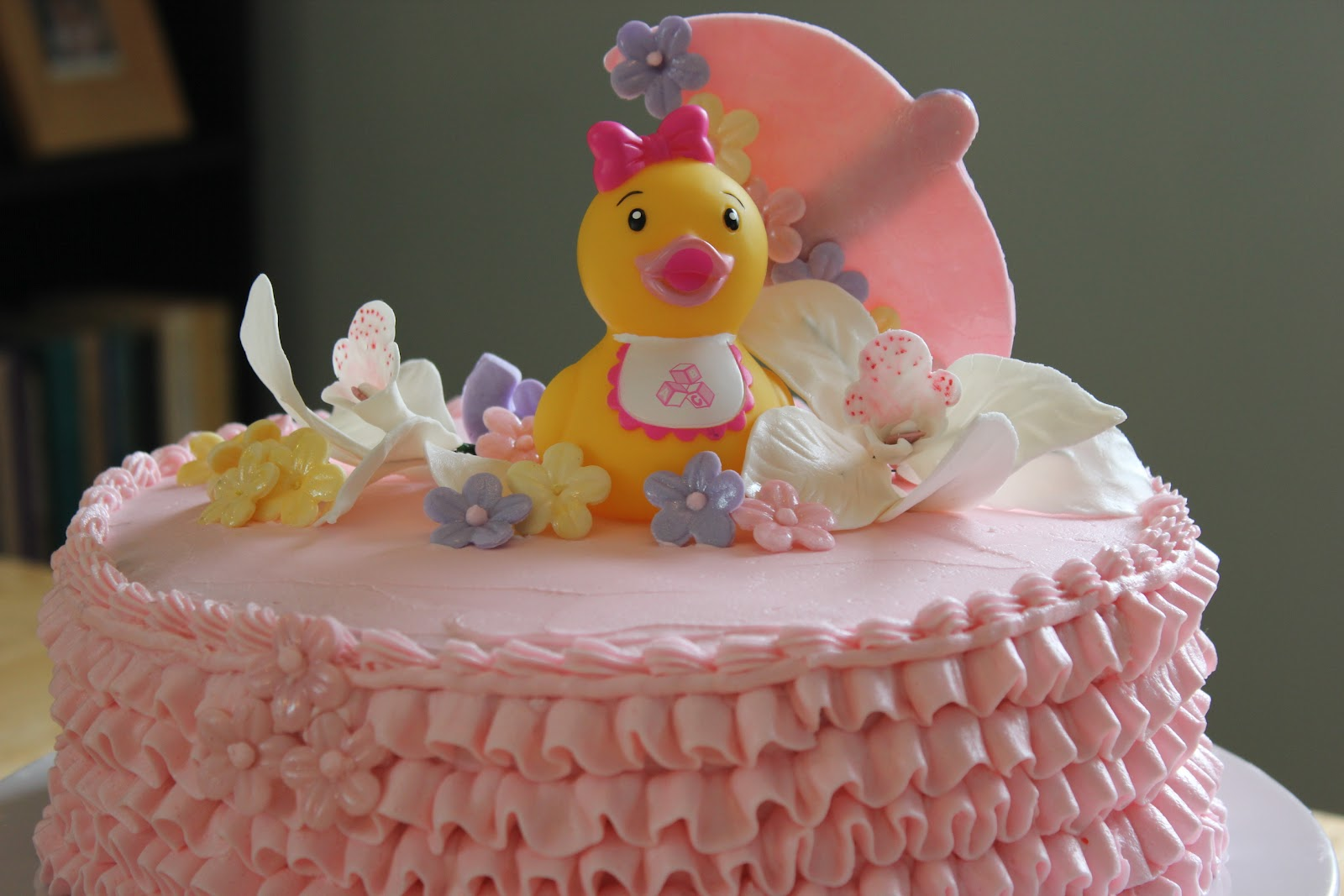 cakes duck baby shower cake