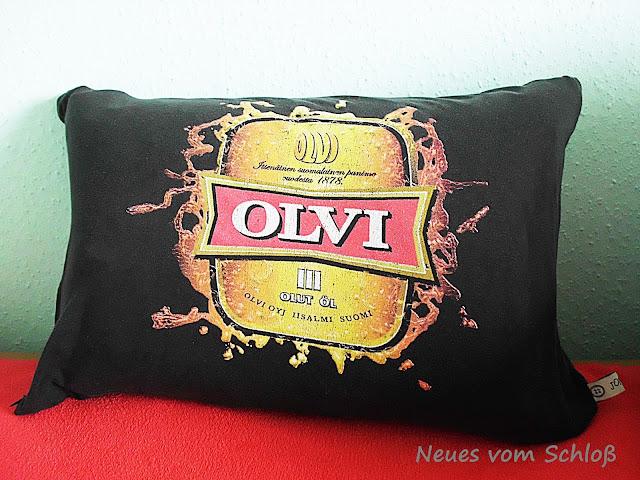 Olvi- Kissen, Neues vom Schloß