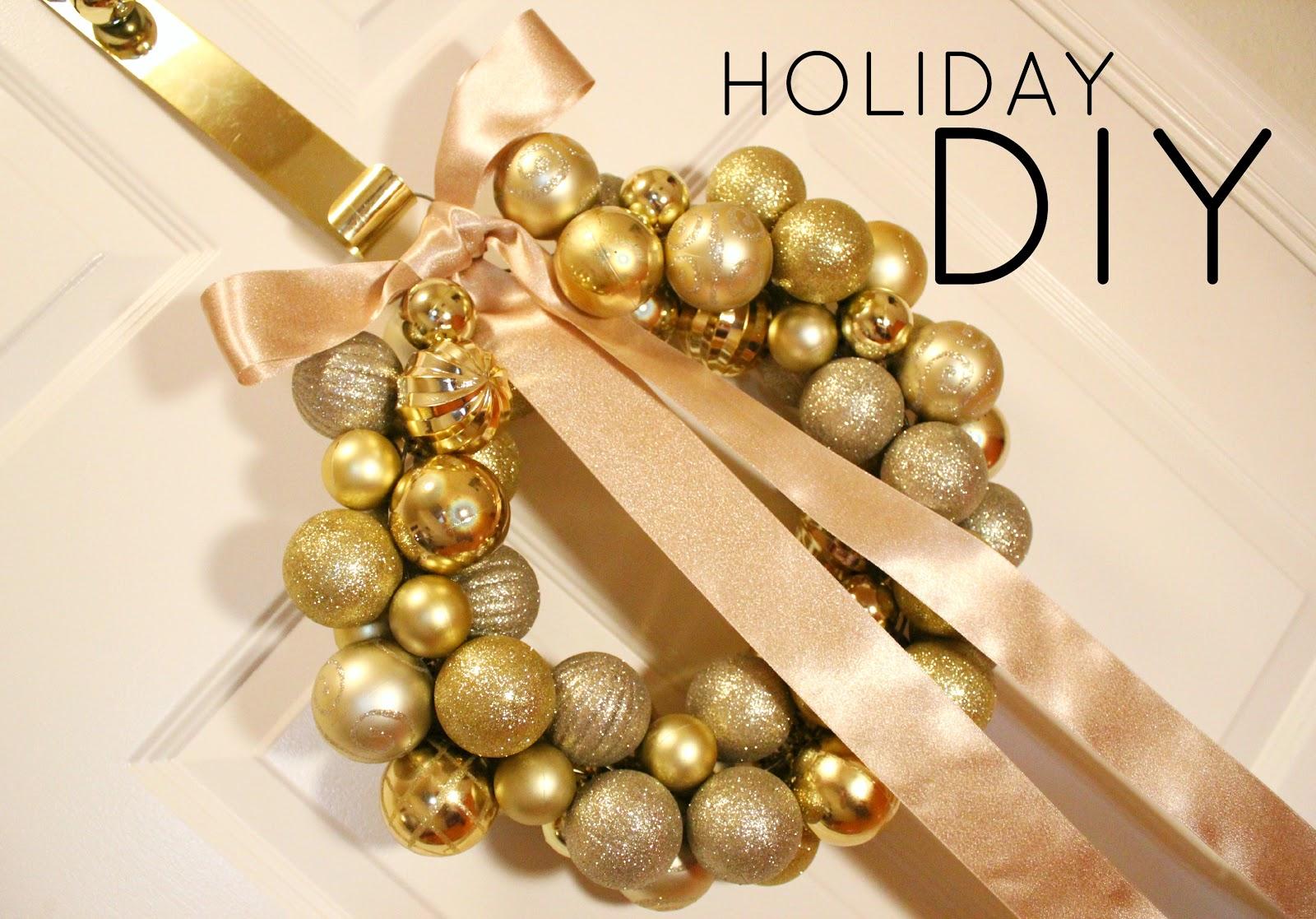 BentleyBlonde: Christmas Ornament Ball Wreath Tutorial
