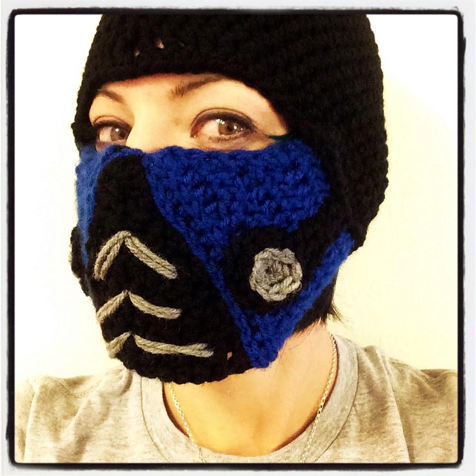 Mortal Kombat Sub Zero Ski Mask | Convivialcrafter