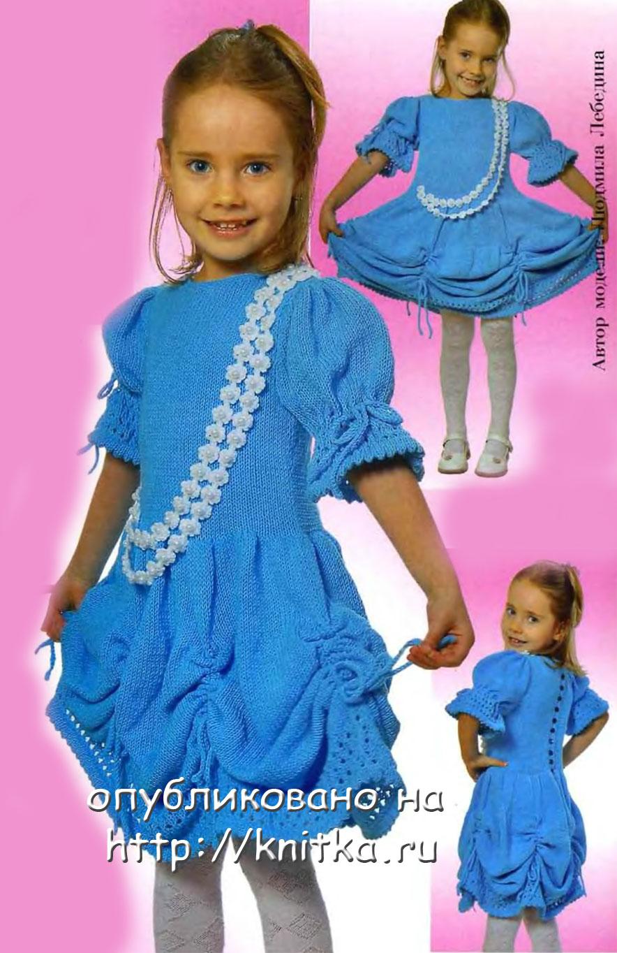 Схемы вязания детских сандалей