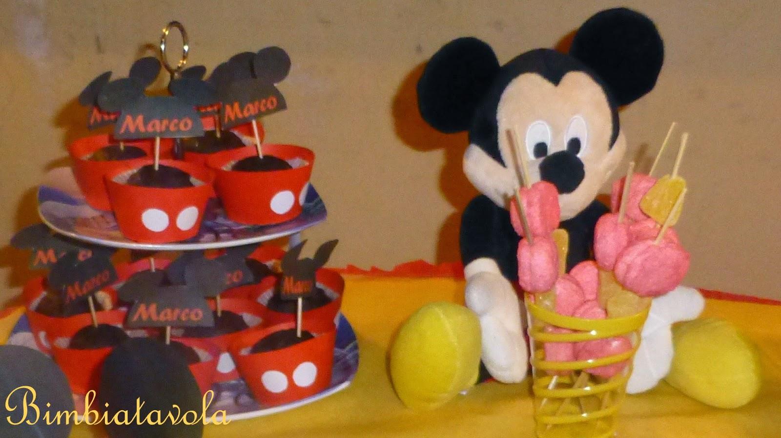 spesso bimbi a tavola: festa a tema topolino - mickey mouse party FS15
