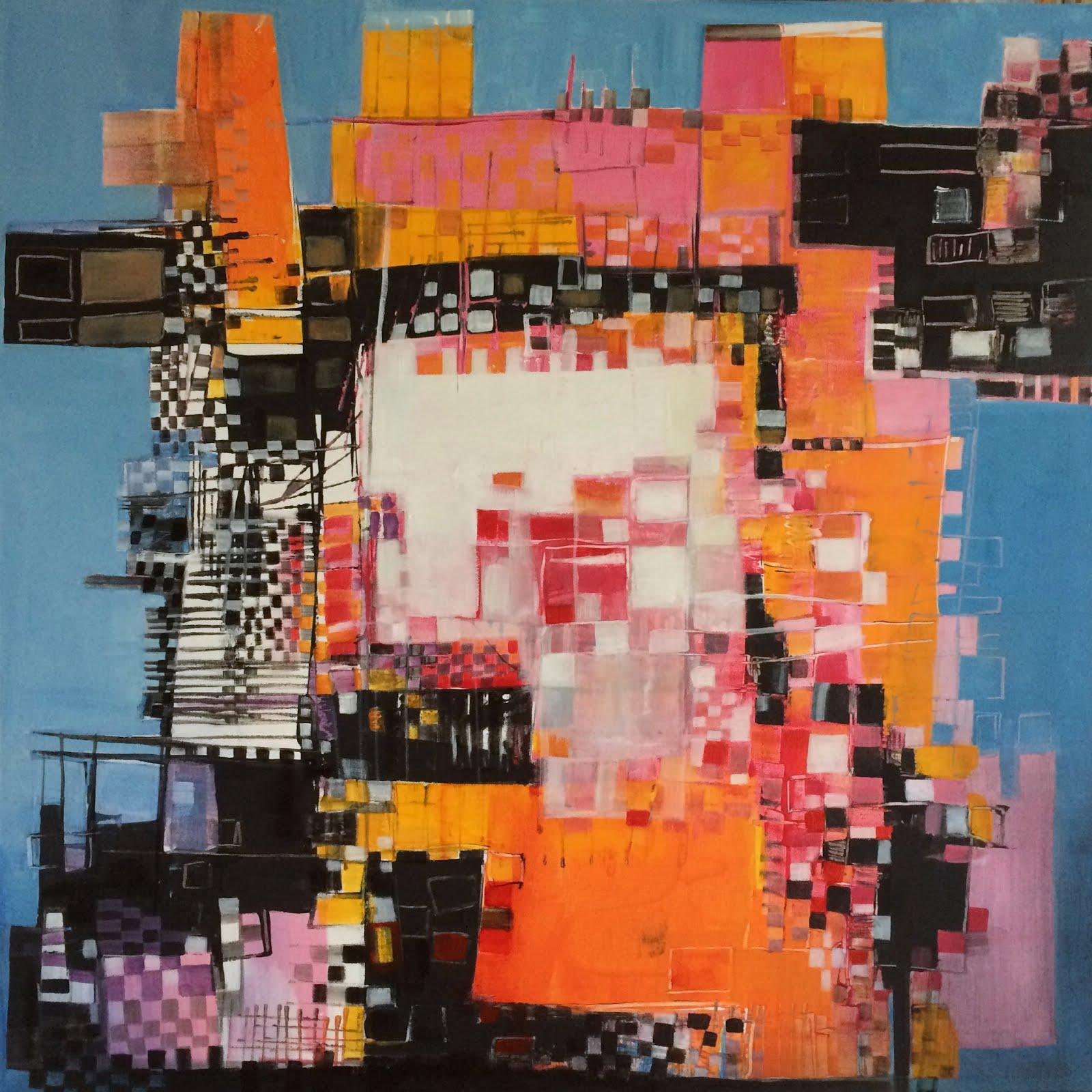 Improbable Babel - 80 x 80 cm - 2017