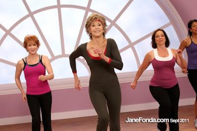 Női torna idősebbeknek Jane Fonda