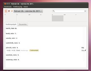 időnyilvántartás Ubuntu Linux 10 10