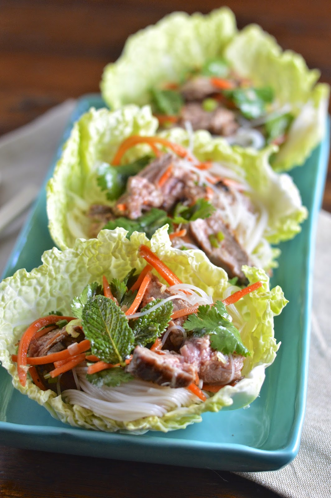 Thai Beef Salad | Virtually Homemade: Thai Beef Salad