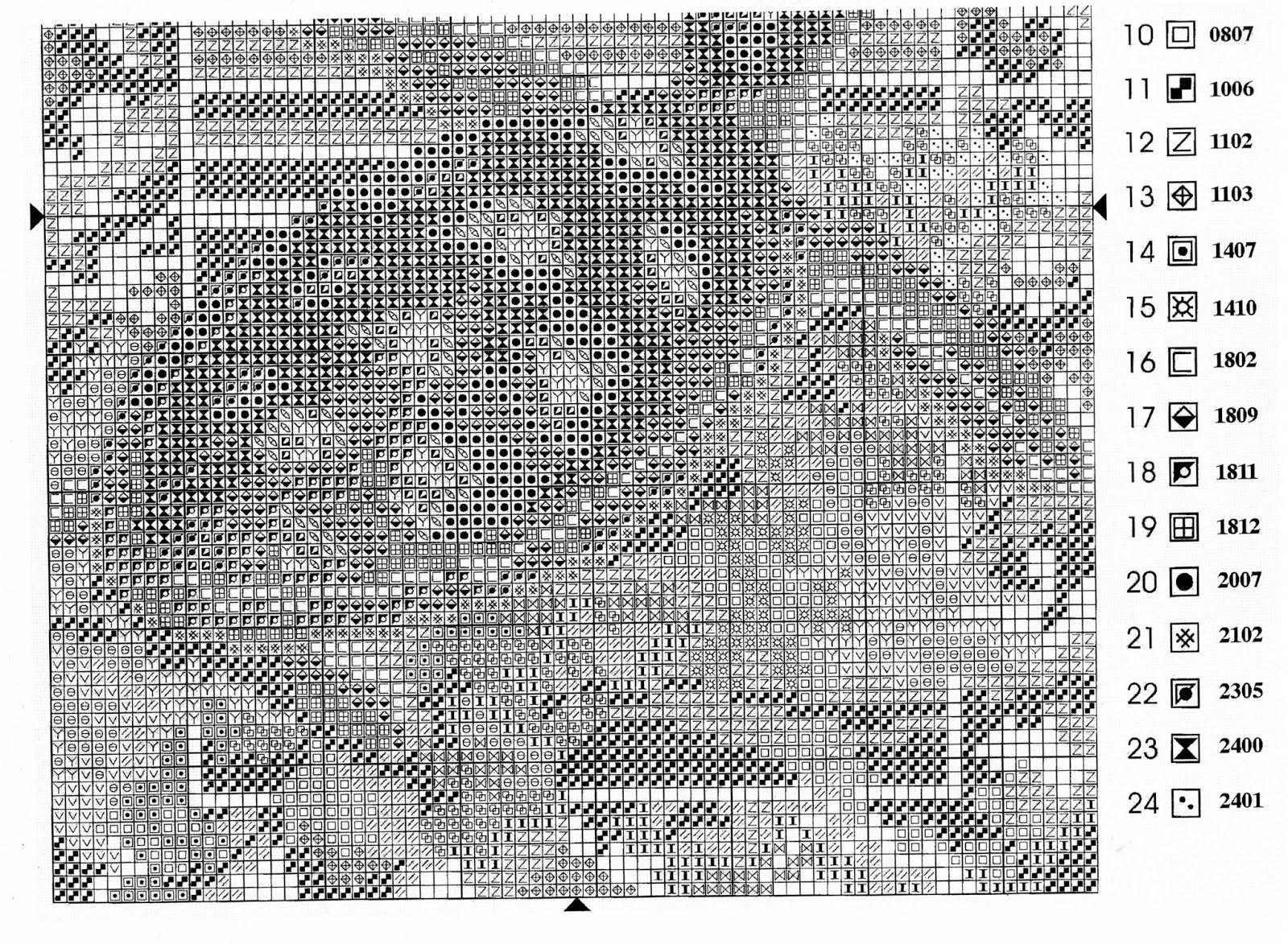Перенаборы схем для вышивки в пм 46