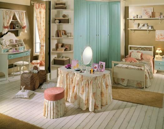 Dormitorios estilo cl sico para ni as dormitorios con estilo - Dormitorio infantil nina ...