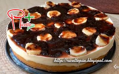 Cheesecake con Banane e Marmellata di Cotto e Mangiato