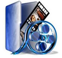 Imagem de fita de filme enrolada e com um filme , dando ligação ao tema.