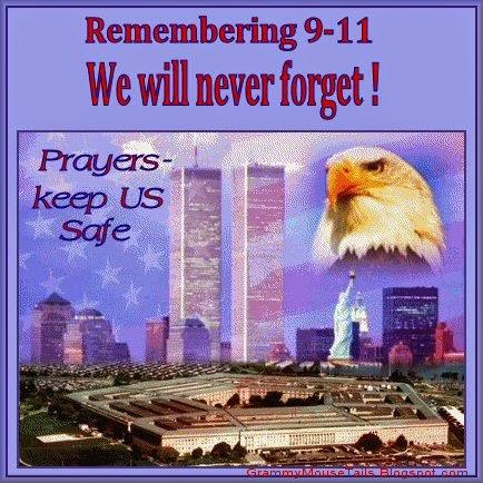 9-11 - pentagon - american flag- eagle- memorial image
