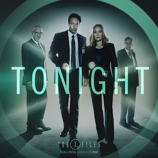 The X-Files ruturns tonight