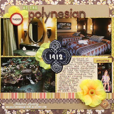 Disney Resort_Polynesian_Scrapbook Page