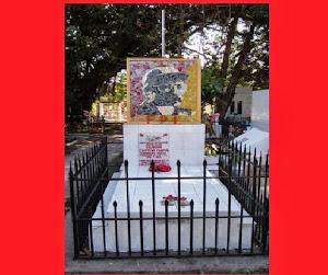 MAUSOLEO DE SALVADOR CAYETANO CARPIO COMANDANTE MARCIAL VISITARLO EN SANTA TECLA,EL SALVADOR.