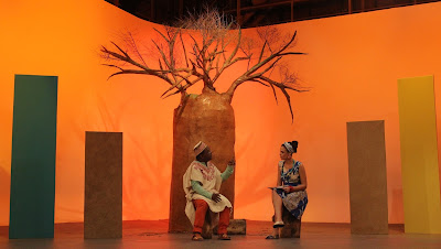 Brincando no Baoba: Cosme dos Santos e Suzana Nascimento - Credito: Rodrigo Ricardo