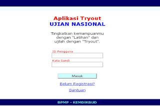 Aplikasi Try Out Ujian Nasional SD,SMP,SMA 2016