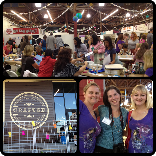 Etsy Craft Party at Crafted at the Port of LA!