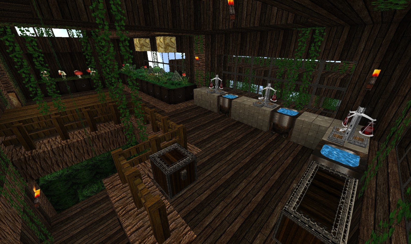 jd 39 s gaming blog minecraft creations the jungle greenhouse