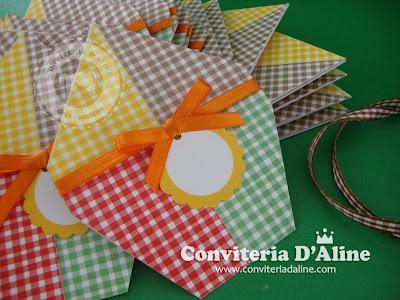 convite para festa junina balão são joão