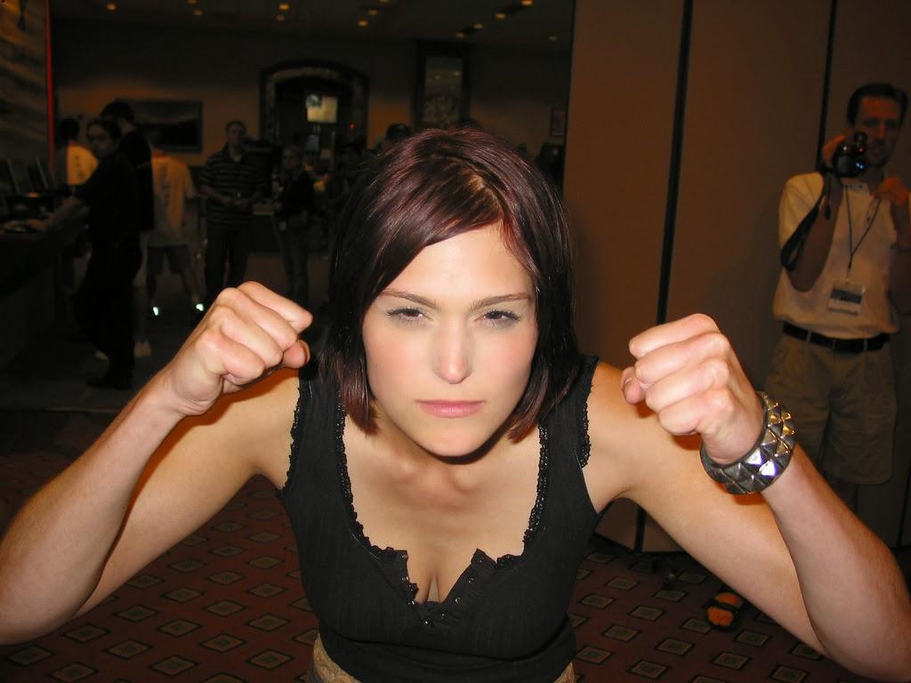 Morgan Webb, the game goddess