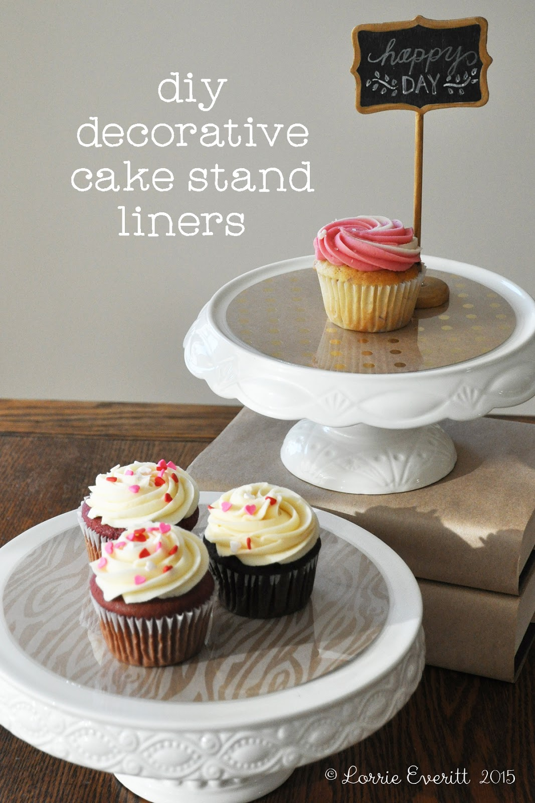 lorrie everitt studio let 39 s celebrate with diy cake stand. Black Bedroom Furniture Sets. Home Design Ideas