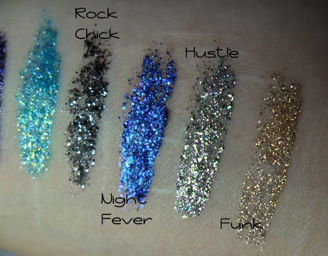 Collection Glam Crystal Swatches