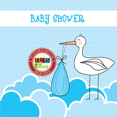 Vector-baby-shower-card