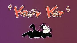 La Gata Loca [serie] una gata con gustos extraños. Krazy_kat.0001