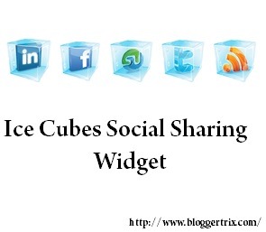 Ice+Cubes+Social+Sharing+Widget+For+Blogger