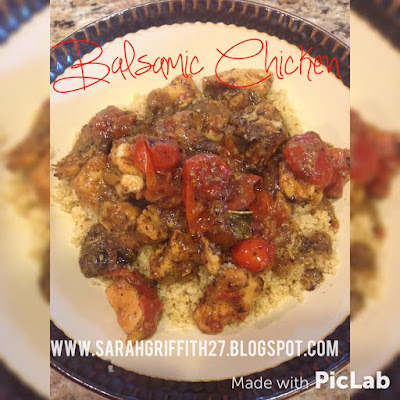 balsamic chicken, clean cooking, organic dinner ideas, easy dinner ideas, fall dinners, sarah griffith, top beachbody coach, elite beachbody coach,