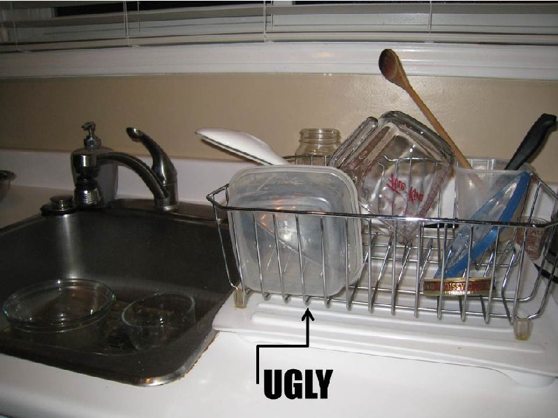 Interior groupie thinking sinks - Kitchen sink drying rack ...