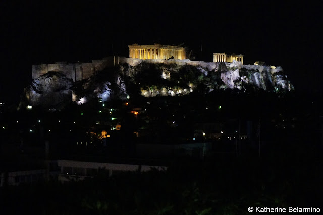 Acropolis View from GB Roof Garden Athens Rooftop Bars
