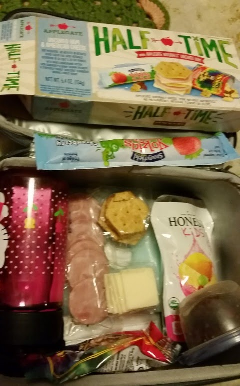 #rockthelunch box influenster vox box lunch idea