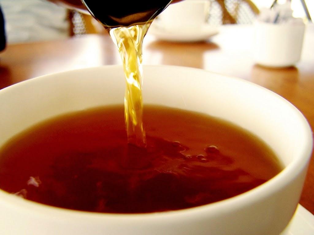 hair tea rinse rinçage au thé