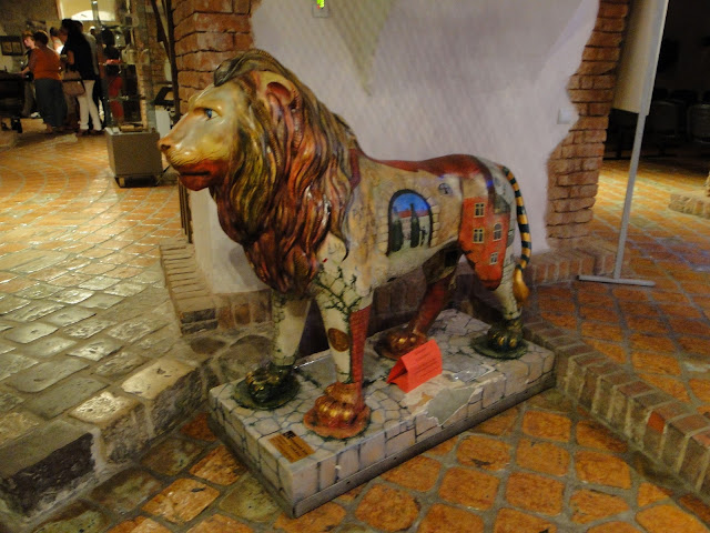 Lion the symbol of Lviv Brewery Museum