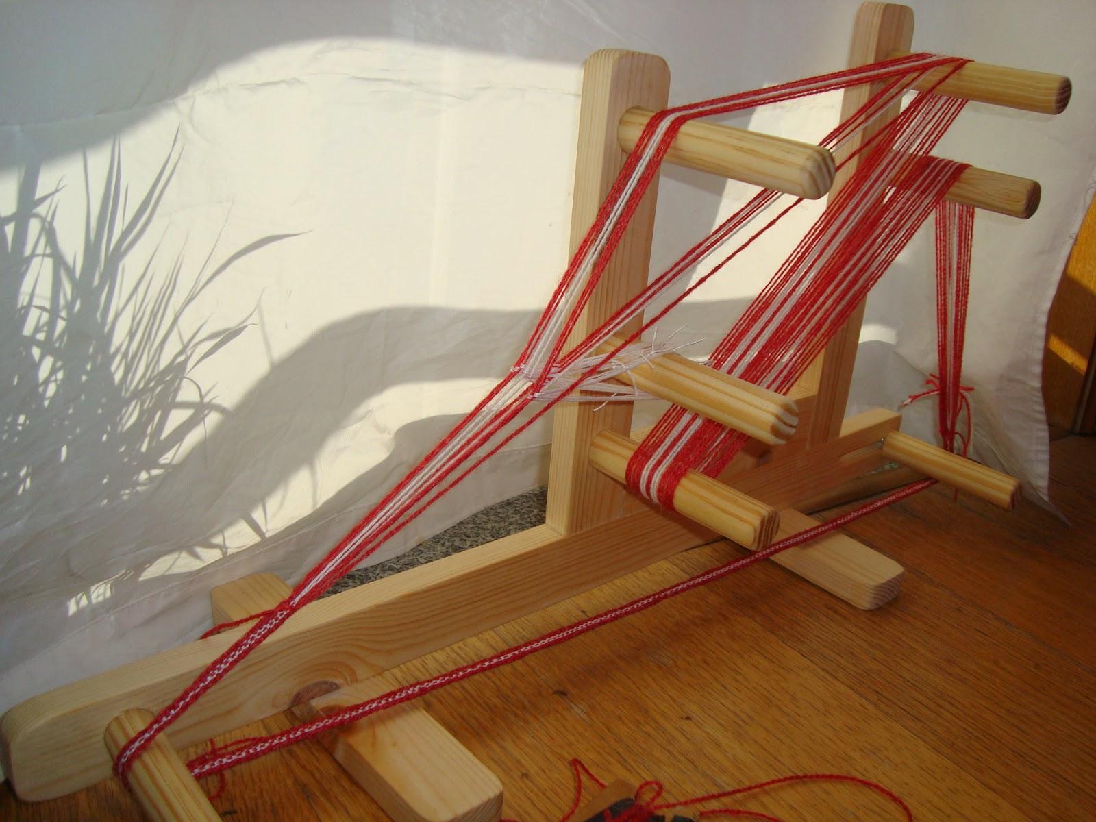 Giosennifer novembre 2012 - Telaio da tavolo per tessitura a mano ...