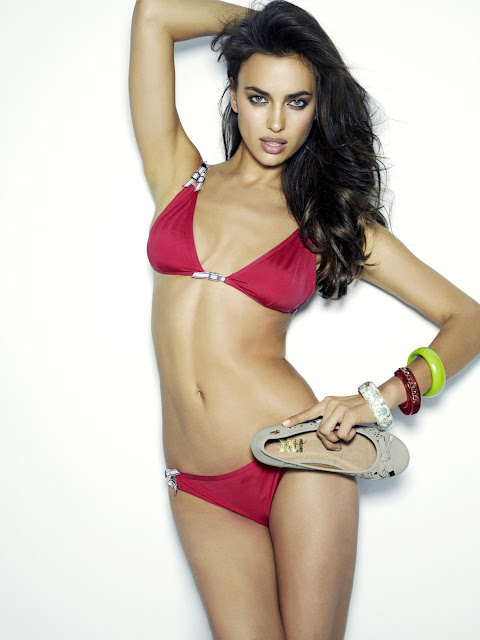 Irina Shayk bikini photo shoot