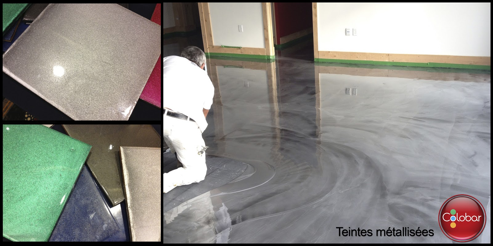 Colobar peinture et d coration une solution durable pour votre plancher de garage en ciment for Peinture beton garage