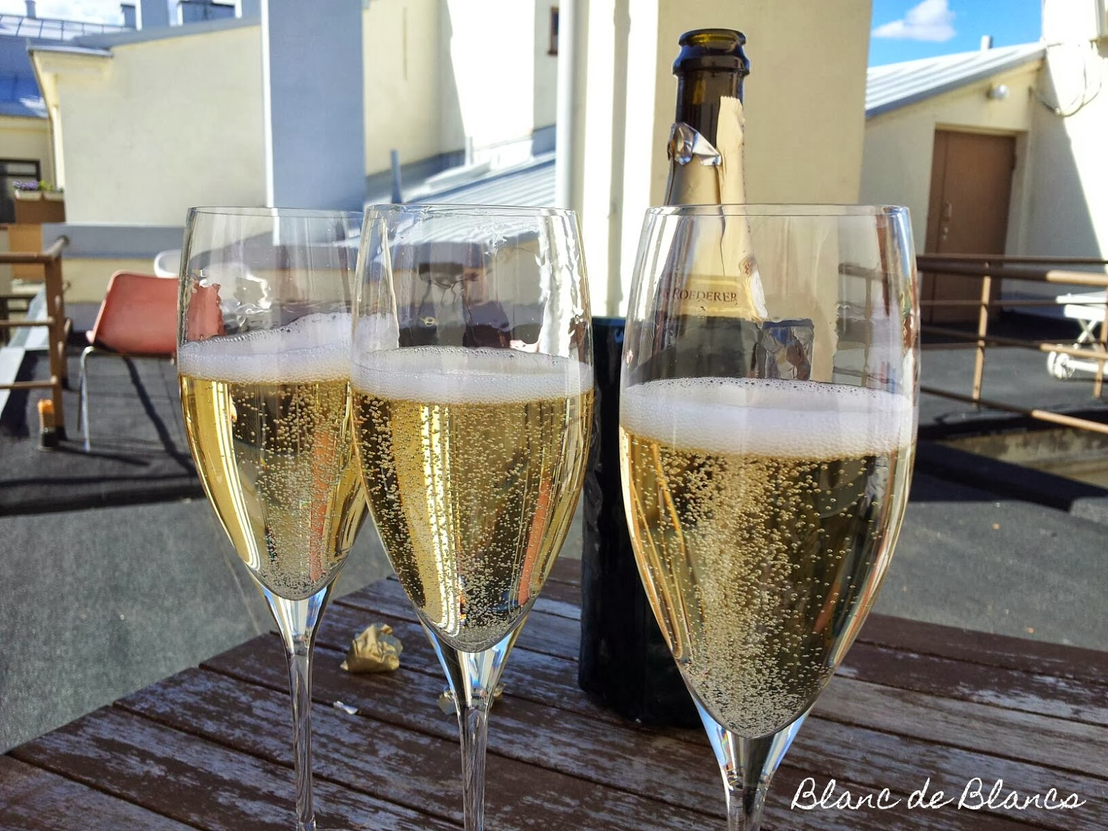 Blanc de Blancs 3 vuotta -malja Joseph Perrier Champagne - Blanc de Blancs